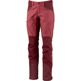 Lundhags Makke broek Dames, garnet/dark red
